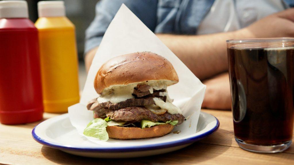 hrana mascobe hamburger